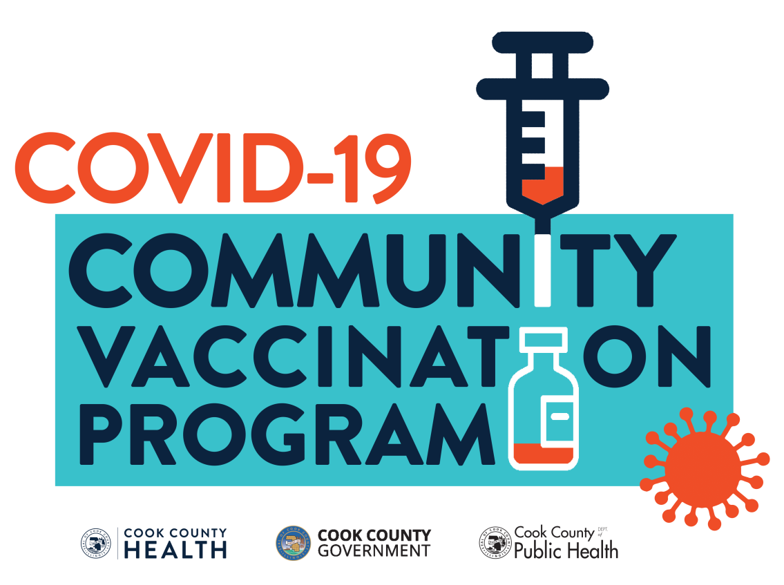 Cook County COVID Community Vaccination Program Image